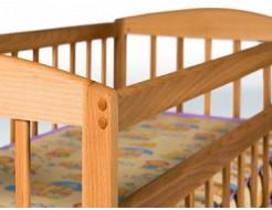 Кровать детская на шарнирах+ящик 1200х600 - изображение 2 - интернет-магазин tricolor.com.ua