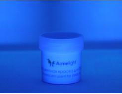 Аквагрим флуоресцентный AcmeLight для тела синий - изображение 2 - интернет-магазин tricolor.com.ua