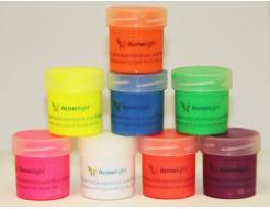 Аквагрим флуоресцентный AcmeLight для тела оранжевый - изображение 3 - интернет-магазин tricolor.com.ua