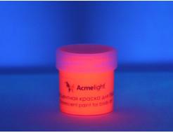 Аквагрим флуоресцентный AcmeLight для тела оранжевый - изображение 2 - интернет-магазин tricolor.com.ua