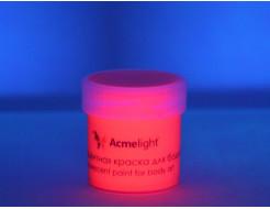 Аквагрим флуоресцентный AcmeLight для тела красный - изображение 2 - интернет-магазин tricolor.com.ua