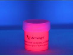 Аквагрим флуоресцентный AcmeLight для тела розовый - изображение 2 - интернет-магазин tricolor.com.ua