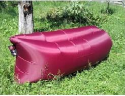 Купить Надувной шезлонг-лежак.top standart бордовый - 20