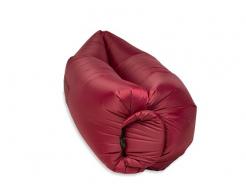 Купить Надувной шезлонг-лежак.top standart бордовый - 23