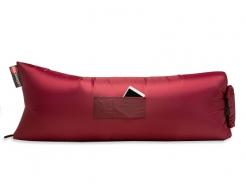 Купить Надувной шезлонг-лежак.top standart бордовый - 24