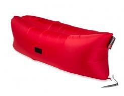Купить Надувной шезлонг-лежак.top standart красный - 4