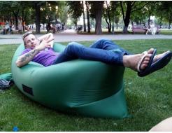 Купить Надувной шезлонг-лежак.top standart зеленый - 13