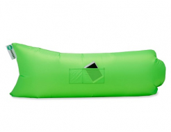Купить Надувной шезлонг-лежак.top standart зеленый неон - 30
