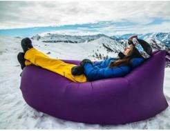 Купить Надувной шезлонг-лежак.top standart фиолетовый - 56