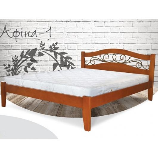 Кровать Афина 180х190 бук, цвет натуральное дерево - интернет-магазин tricolor.com.ua