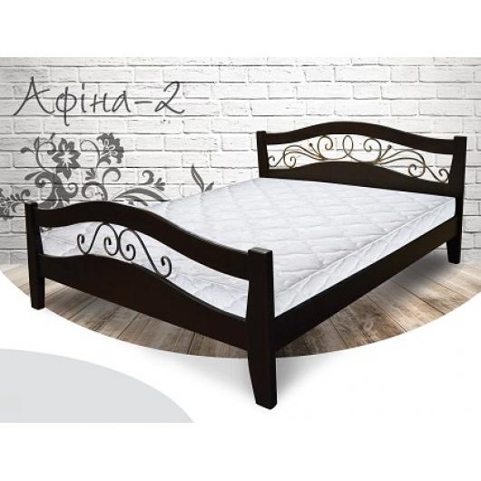 Кровать Афина-2 180х190 бук, цвет натуральное дерево - интернет-магазин tricolor.com.ua