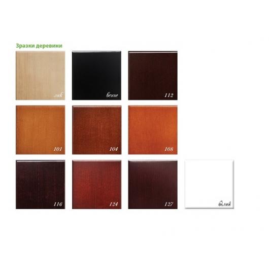 Кровать Афина-новая 90х190 бук, цвет натуральное дерево - изображение 2 - интернет-магазин tricolor.com.ua
