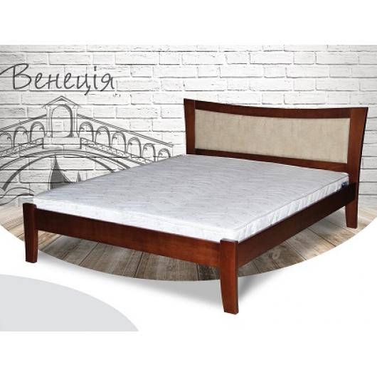 Кровать Венеция 120х200 бук, цвет натуральное дерево - интернет-магазин tricolor.com.ua