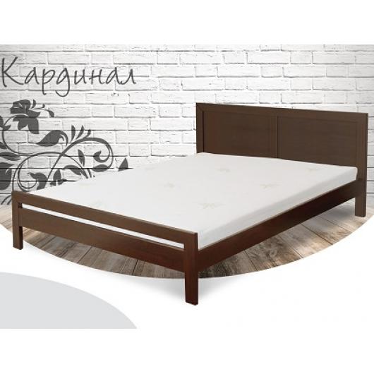 Кровать Кардинал 120х200 бук, цвет натуральное дерево - интернет-магазин tricolor.com.ua