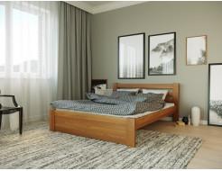 Кровать Жасмин 90х190 бук, цвет натуральное дерево - изображение 3 - интернет-магазин tricolor.com.ua