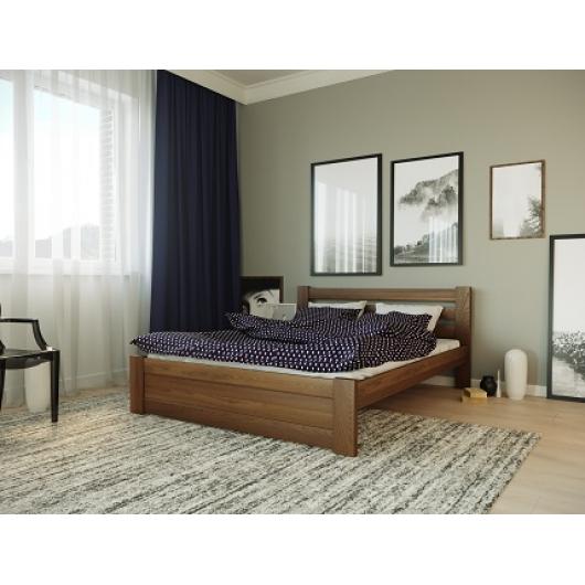 Кровать Жасмин 140х200 бук, цвет натуральное дерево - изображение 2 - интернет-магазин tricolor.com.ua