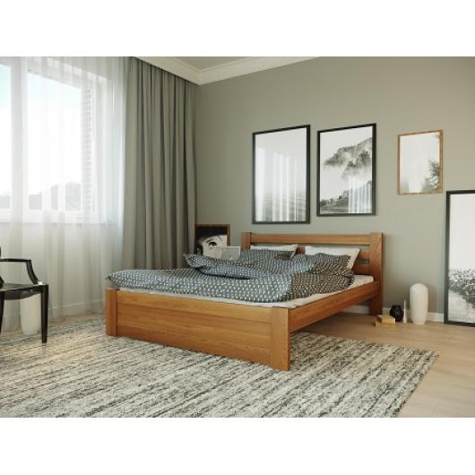 Кровать Жасмин 140х200 бук, цвет натуральное дерево - изображение 3 - интернет-магазин tricolor.com.ua