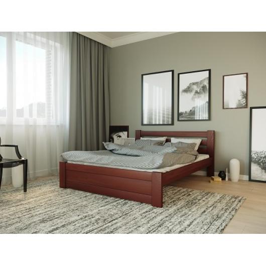 Кровать Жасмин 140х200 бук, цвет натуральное дерево - изображение 4 - интернет-магазин tricolor.com.ua