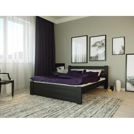 Кровать Жасмин 160х190 бук, цвет натуральное дерево - интернет-магазин tricolor.com.ua