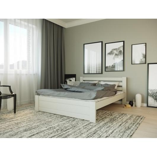 Кровать Жасмин 160х190 бук, цвет натуральное дерево - изображение 2 - интернет-магазин tricolor.com.ua