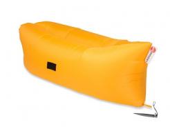 Купить Надувной шезлонг-лежак.top premium желтый - 38