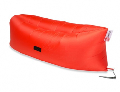 Купить Надувной шезлонг-лежак.top premium оранжевый - 46