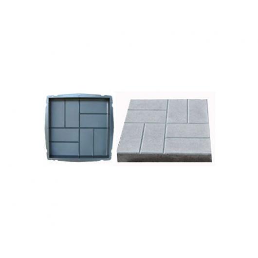Форма для тротуарной плитки «Квадрат кирпич» 40x40x5 AX