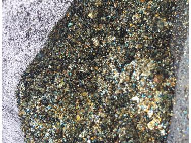 Пигмент Хамелеон-хлопья Tricolor 1114 mix золотой