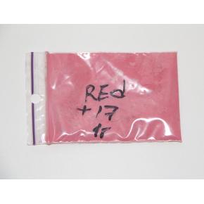 Пигмент термохромный +17 Tricolor красный - интернет-магазин tricolor.com.ua