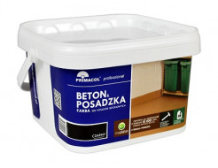 Краска для бетона и бетонных покрытий Primacol (красная) - изображение 2 - интернет-магазин tricolor.com.ua