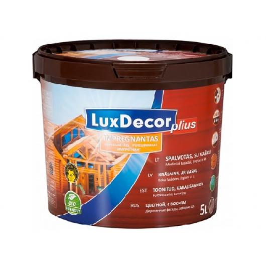 Пропитка для дерева LuxDecor Plius (махагон) - интернет-магазин tricolor.com.ua