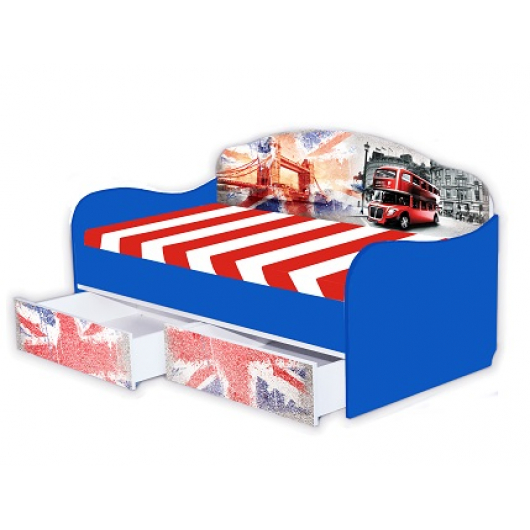Кроватка диванчик Англия 80х160 ДСП