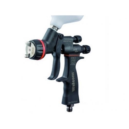 Краскопульт Genesi Carbonio Walcom 360 HTE Base 1,4mm - изображение 3 - интернет-магазин tricolor.com.ua