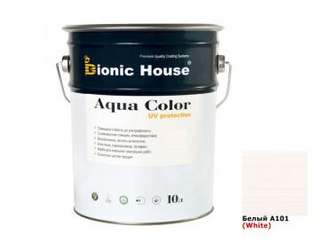 Акриловая лазурь AQUA COLOR – UV protect Bionic House (белая)