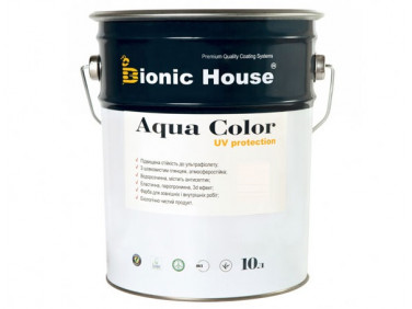 Акриловая лазурь Aqua color – UV protect Bionic House (бесцветная)