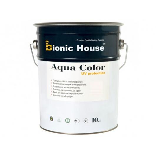 Акриловая лазурь Aqua color – UV protect Bionic House (бесцветная) - интернет-магазин tricolor.com.ua