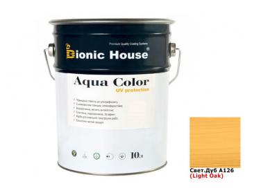 Акриловая лазурь Aqua color – UV protect Bionic House (светлый дуб)