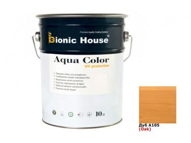 Акриловая лазурь Aqua color – UV protect Bionic House (дуб)