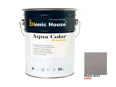 Акриловая лазурь AQUA COLOR – UV protect Bionic House (пепельная)