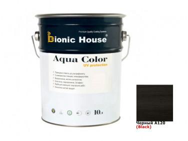 Акриловая лазурь AQUA COLOR – UV protect Bionic House (черная)