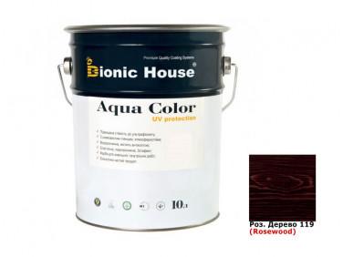 Акриловая лазурь Aqua color – UV protect Bionic House (розовое дерево)