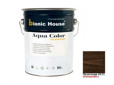 Акриловая лазурь AQUA COLOR – UV protect Bionic House (палисандр)