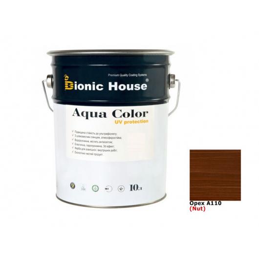 Акриловая лазурь Aqua color – UV protect Bionic House (орех) - интернет-магазин tricolor.com.ua