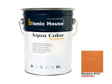 Акриловая лазурь Aqua color – UV protect Bionic House (миндаль)