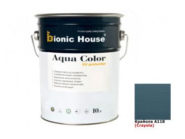 Акриловая лазурь AQUA COLOR – UV protect Bionic House (крайола)