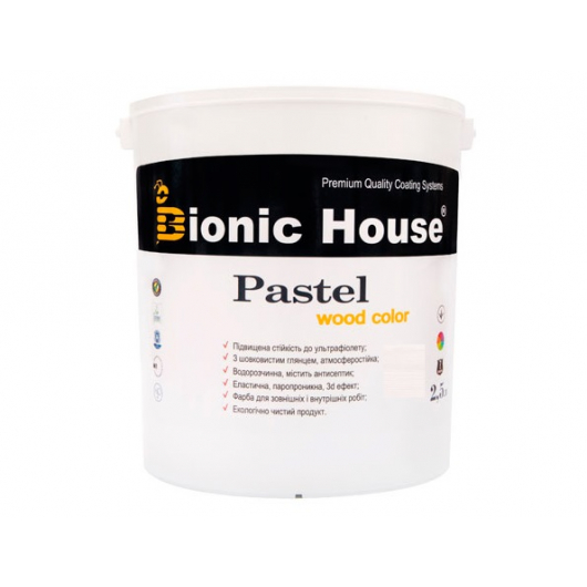 Акриловая пропитка-антисептик Pastel Wood color Bionic House (мальдивы) - изображение 2 - интернет-магазин tricolor.com.ua
