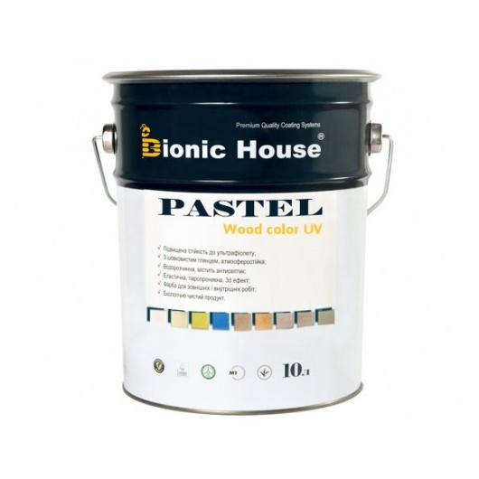 Акриловая пропитка-антисептик Pastel Wood color Bionic House (баунти) - изображение 3 - интернет-магазин tricolor.com.ua