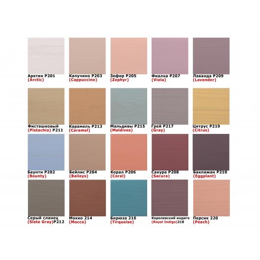 Акриловая пропитка-антисептик Pastel Wood color Bionic House (бейлис) - изображение 4 - интернет-магазин tricolor.com.ua