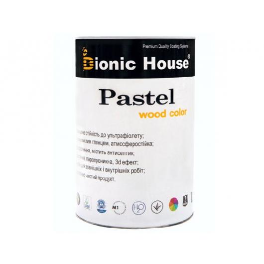 Акриловая пропитка-антисептик Pastel Wood color Bionic House (серый сланец) - интернет-магазин tricolor.com.ua