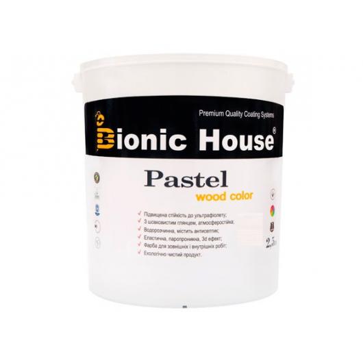 Акриловая пропитка-антисептик Pastel Wood color Bionic House (серый сланец) - изображение 2 - интернет-магазин tricolor.com.ua